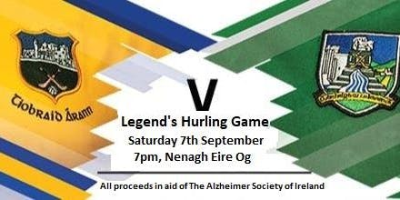 Legends Hurling Clash - Tipperary v Limerick