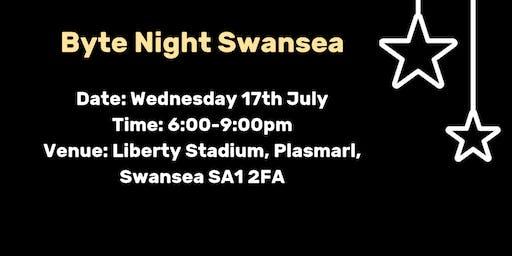 Byte Night Swansea Launch