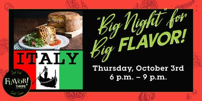"""Big Night"" for Big FLAVOR!"