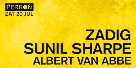 ZADIG, SUNIL SHARPE, ALBERT VAN ABBE tickets