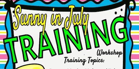 Sunny Day in July Training Workshop: Denton, TX tickets