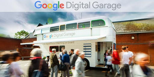 Google Digital Garage Bus comes to Stockton Central Library