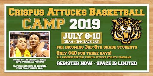 Crispus Attucks Basketball Camp 2019
