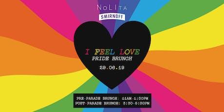 I Feel Love Pride Brunch at NoLIta tickets
