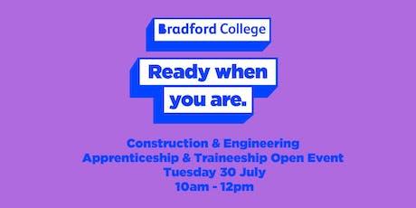 Construction & Engineering Apprenticeship Event tickets