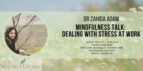 Mindfulness Talk: Dealing with Stress at Work  tickets