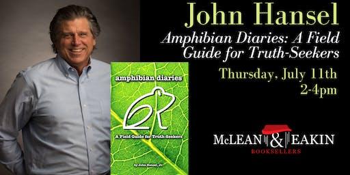 Book Signing with John Hansel