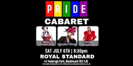 PRIDE CABARET at Royal Standard Blackheath tickets