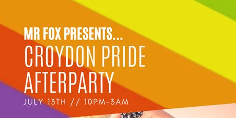 CROYDON PRIDE 2019 AFTER-PARTY tickets