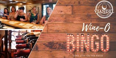 Wine-O Bingo @ the Vineyard - 06/27/19