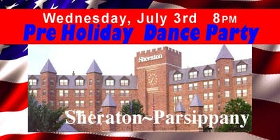 Pre Holiday Dance Party ~ Sheraton Parsippany, Singles & Couples Welcome   190703 Lmod