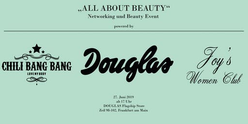 Beauty & Networking Event DOUGLAS
