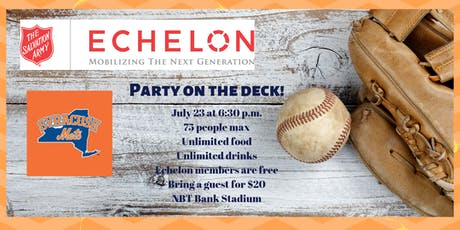 Party on the deck and watch the Mets with Echelon Syracuse! tickets