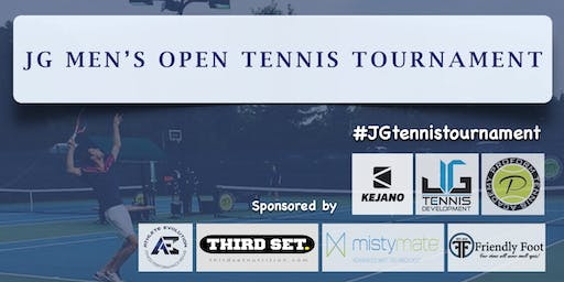 $3500 JG Men's Open Tennis Tournament