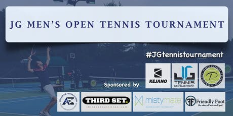 $3500 JG Men's Open Tennis Tournament tickets