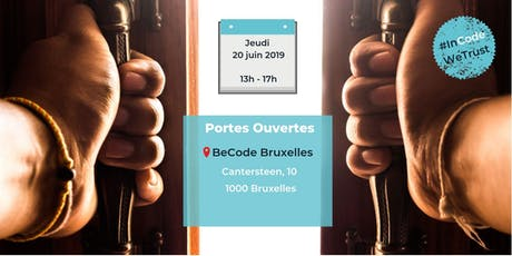 Portes Ouvertes - BeCode Bruxelles (20/06) billets