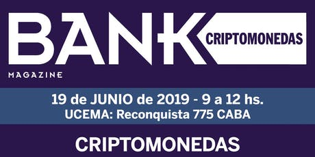 Bank Criptomonedas tickets