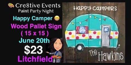 $23 Paint Pallet Night @ The Birches BYOB tickets