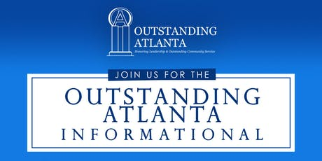 2019 Outstanding Atlanta Class Informational tickets