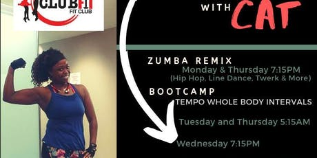 Zumba ReMix with Cat  (Zumba, Hip Hop, Line Dance, Fitness & Toning) tickets