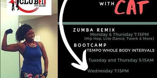 Zumba ReMix with Cat  (Zumba, Hip Hop, Line Dance, Fitness & Toning)