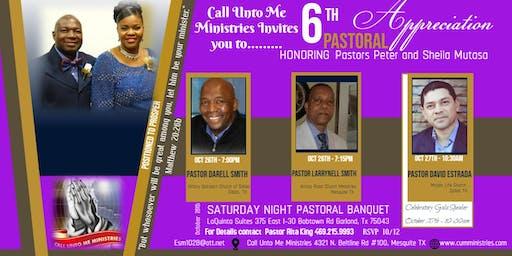 6TH Pastoral Appreciation Honoring Pastors Peter and Sheila Mutasa