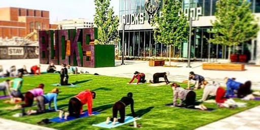 Yoga in the Plaza by Yoga Six