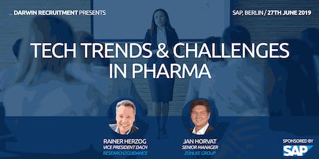 Tech Trends And Challenges In Pharma tickets