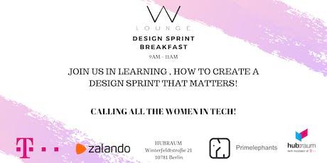 Design Sprint Breakfast tickets