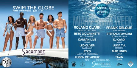 Swim The Globe Move The World Miami Swim Week benefiting PAW - Day 3 tickets