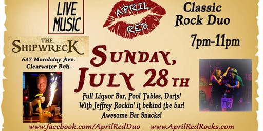April Red LIVE at The Shipwreck on Clearwater Beach!