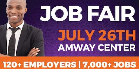 OrlandoJobs.com Job Fair @ Amway Center tickets