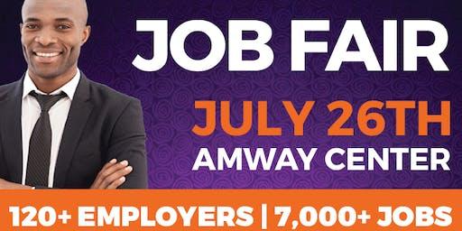 OrlandoJobs.com Job Fair @ Amway Center