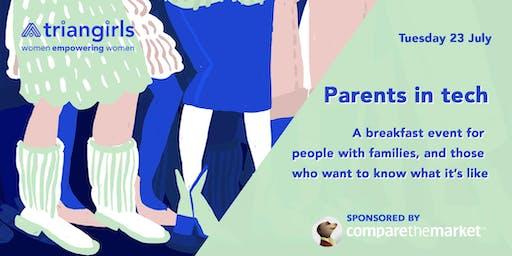 Triangirls parenting breakfast event