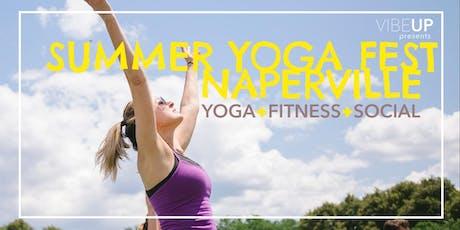 VIBEUP SUMMER YOGA FEST, Naperville :: Yoga + Fitness + Social + Ale Fest tickets