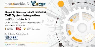 CAD System Integration nell'Industria 4.0