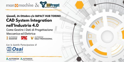 CAD System Integration nell'Industria 4.0