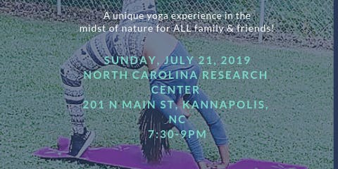 Outdoor Family Yoga - Summer Session