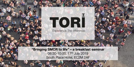 Bringing SMCR to life tickets