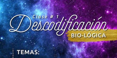 Clase 1 - Curso descodificación Bio-lógica ONLINE entradas