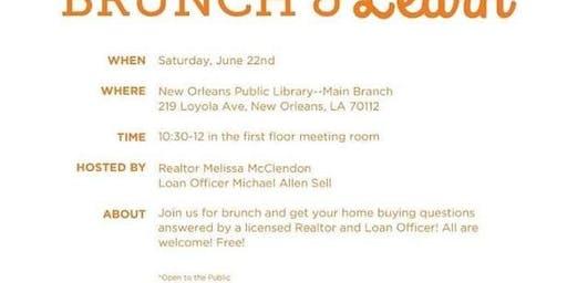 Brunch N Learn HomeBuyer Seminar