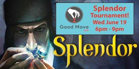Splendor Tournament June 19th! tickets