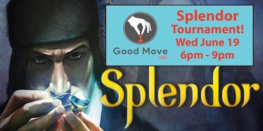 Splendor Tournament June 19th!