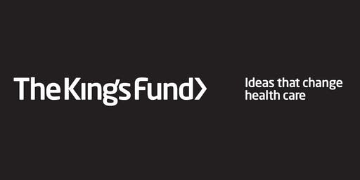 The King's Fund annual conference 2019