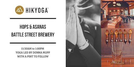 Hops & Asanas at Battle Street Brewery