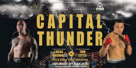 Rich Energy and Kynoch Boxing Presents Capital Thunder tickets