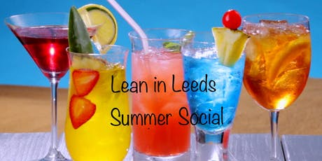 Lean in Leeds - Summer Social tickets