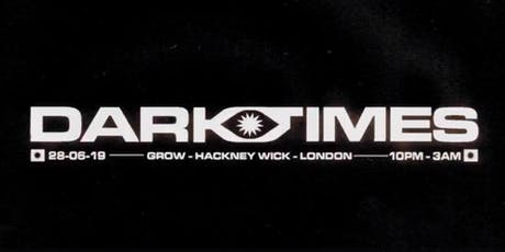 Darktimes DJs // World, Disco & Electronic tickets