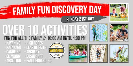 Family Fun Discovery Day - July 21st 2019 tickets