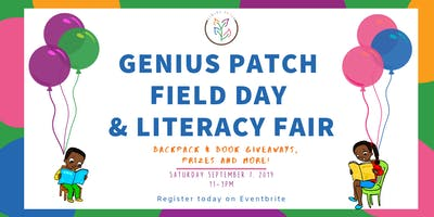 Genius Patch Field Day and Literacy Fair